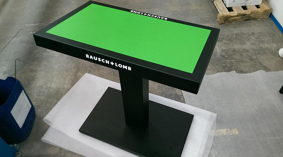 BARREM CONCEPT - mobilier metal sur mesure pose cinéma